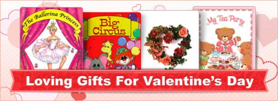 Valentines Gifts from Create-A-Book